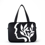 """Silhouette"" Vegan Large Tote – Design by Dallas Artist Jody Pham (Multicolored) $230"