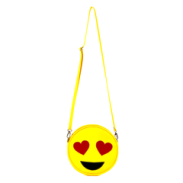 Emoji Heart-Eyes Vegan Crossbody/Clutch Bag from $110