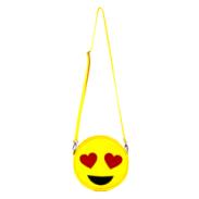 Emoji Heart-Eyes Vegan Crossbody/Clutch Bag from $110